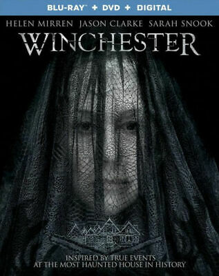 Winchester (Blu-Ray + DVD + Digital, 2018) BRAND NEW FREE SHIPPING