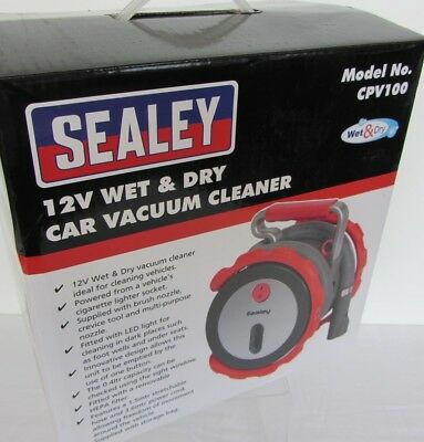 Sealey 12v Wet and Dry Car Vacuum. New in Box.