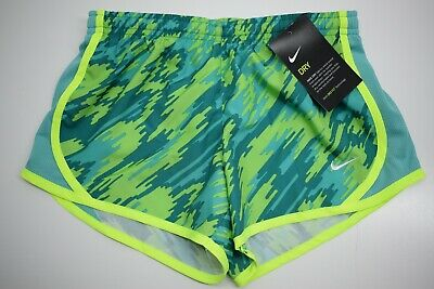 Nike Dri-Fit Girls Tempo All Over Print Running Sport Short 805574 Size S NEW