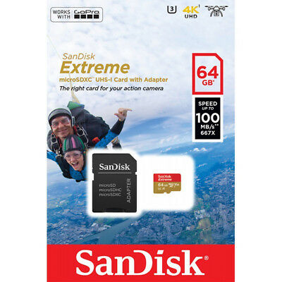 sandisk microsd 64 gb ultra class 10 533X microSDXC UHS-I 100 MB/S FULL VIDEO HD