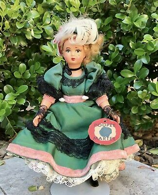 All Original French Can Can Celluloid Doll