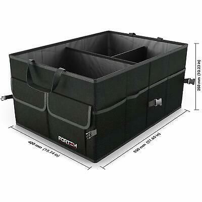 Car Trunk Organizer by FORTEM Auto Durable Collapsible Cargo Storage