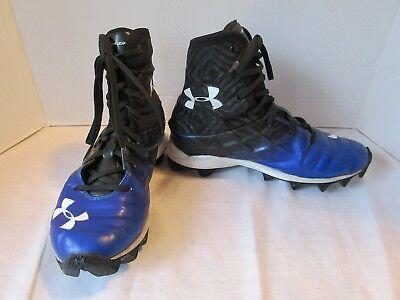 Under Armour Highlight Limited LE Crab Youth Lacrosse LAX Cleats 1297357-100 3.5