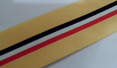 Iraq Op Telic Full Size Medal Ribbon, Army, Military, Various Lengths, Mounting