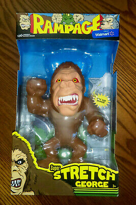2018 MIDWAY CLASSIC Arcade Rampage Super Stretch George Figure