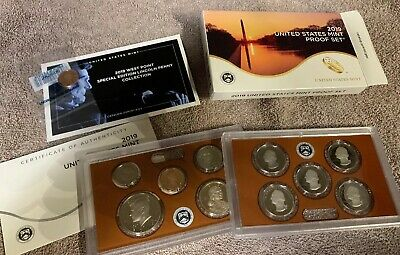 2019 S US Proof Coin Set Plus First Ever WP Mint Cent In STOCK READY TO SHIP!!!