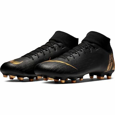 Nike Mercurial Superfly 6 Academy Fg Soccer Shoes Cams for Men Black New