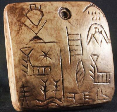 EARLY SUMERIAN REAL ESTATE TABLET Oldest Land Deed 3000 BC museum replica