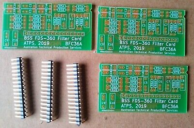 set of (replica) BSS FDS-360 frequency cards