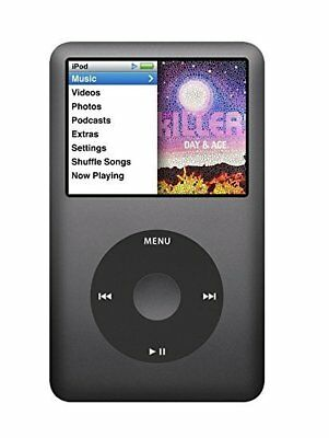 Apple iPod 7th Gen Classic with a 256GB Compact Flash Drive (Refurbished) (Grey)