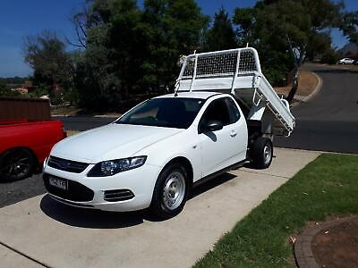 2012 Ford Falcon FG Tipper/Cab Chassis Steel Tray Ute in Excellent Condition