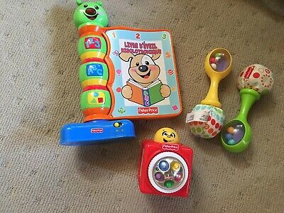 Bulk  Fisher Price Baby Toys Plastic Educational