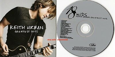 Keith Urban Greatest Hits 18 Kids CD Mint Like New