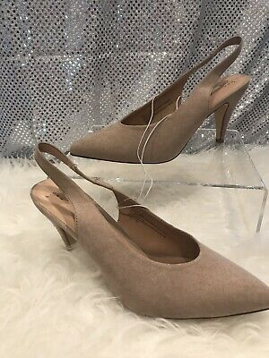 6a8dc60dc678 A NEW DAY Gemma Pointed Toe Heels Women s Size 7.5 Wide Mochaccino ...