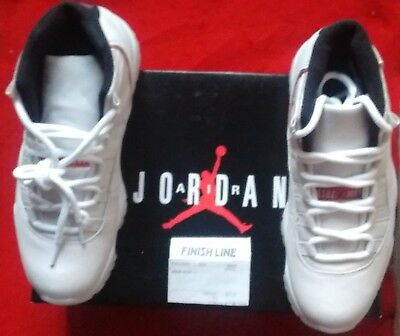 newest b5058 1a5c6 Nike Air Jordan Retro 11 XI Size 8.5 · Platinum White Tint Red · New