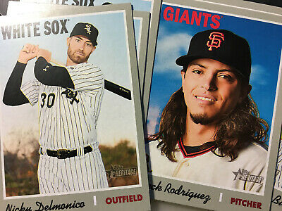 2019 Topps Heritage Base You Pick Cards 201-400 ~ FREE SHIPPING