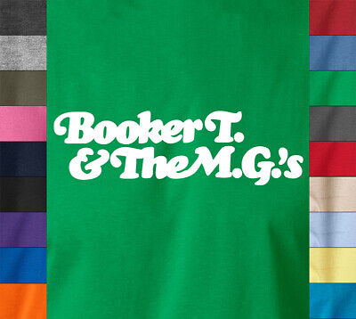 BOOKER T & The M.G's T-Shirt Northern Soul Retro Vintage - Ringspun Cotton Tee