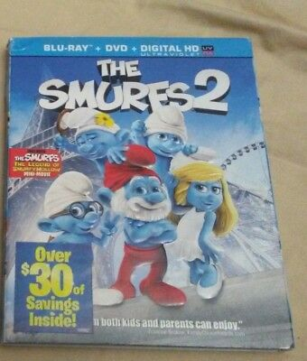 The Smurfs 2 Blu-ray W/SLIPCOVER CASE Digital Download Available