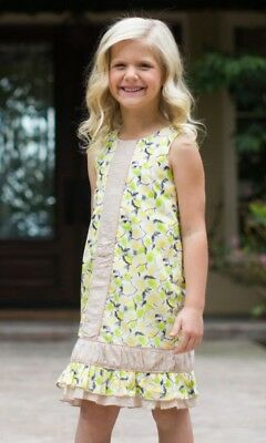 465493d8c1 TRISH SCULLY CHILD Girls Sz. 5 Overlay Spring Summer Dress -  15.99 ...