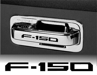4pcs F150 Stickers Decals FORD Wheels Door handle sticker decal Mustang BLACK