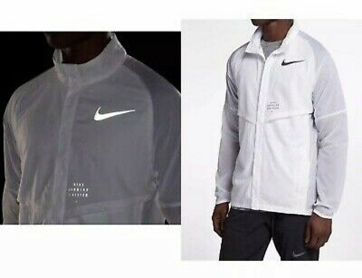 95d00a684046a5 Nike Run Division Men s Running Jacket Medium (White)NEW WITH TAG MSRP  160