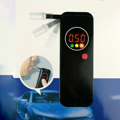 Alcohol Breathalyser Breath Tester Accurate Digital Display Pocket Design