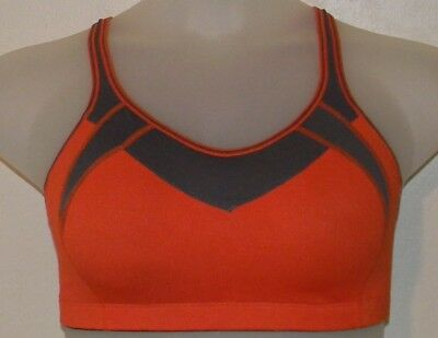 c25f115481a6b La Isla Sports Bra SYROKAN High Impact Mesh Wireless 34DD X-back Gym Active