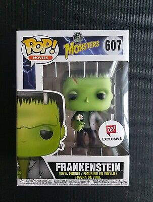 Figur 9 Cm Funko Universal Monsters Frankenstein Flower Pop Aufsteller & Figuren