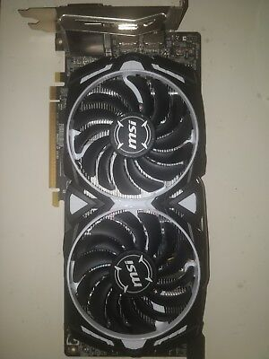 MSI RX 580 4GB ARMOR OC Graphics Card |  VR READY! (2-3 Day Shipping)