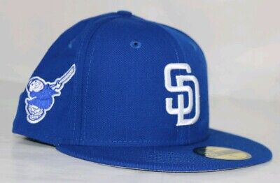 official photos 1ae88 ad149 San Diego Padres New Era MLB C-Dub Patch 59FIFTY Cap Fitted Sz 7  35