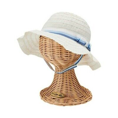 902e64f2cacf1c San Diego Hat Company Unisex Children's Polyester Ribbon Sun Hat With Bow