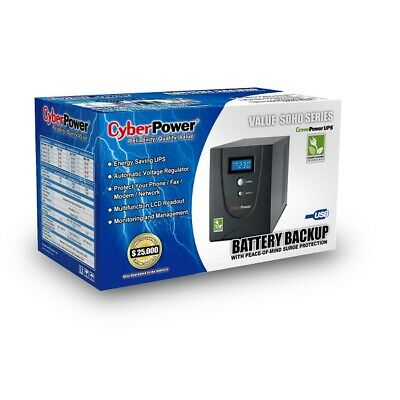 CYBERPOWER VALUE 1200ELCD 1200VA  Line Interactive UPS CPW-VALUE 1200ELCD