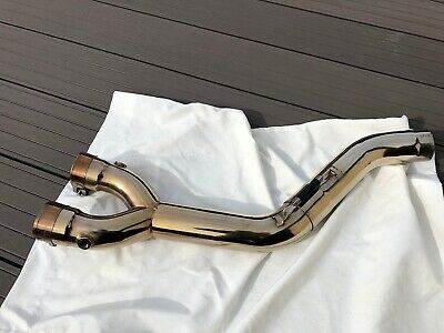 Yamaha MT10 MT-10 R1 Scorpion Decat Link Pipe Polished Stainless Steel FREE P+P