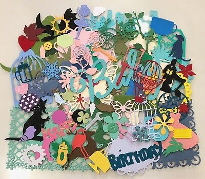 Huge Lot Over 100pcs Assorted Die Cuts Lots Of Variety Aussie Seller