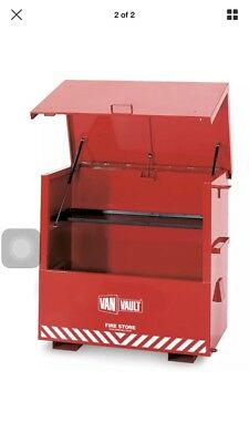 937777a93d VAN VAULT FIRE STORE SITE STORAGE S10071 1400 x 800 x 1240mm Flammable  chemicals