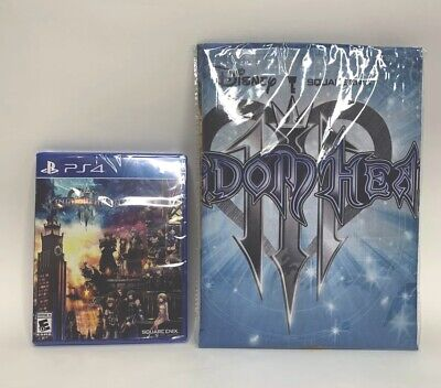 Kingdom Hearts 3 With Pre-order Fabric Poster PS4 Brand New Sealed NIB
