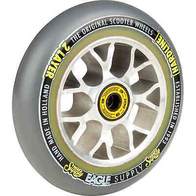 Eagle Sport Hardline 2-Layer X6 Sewercaps Scooter Wheel - Grey/Silver 115mm