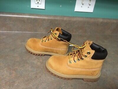 dff21b87a TIMBERLAND BOOTS WHEAT Suede (little kids infant toddlers) 6 Inch ...