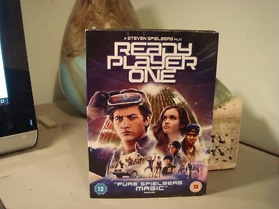 Ready Player One DVD (2018) Very Good Condition