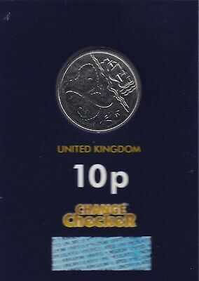 "NEW 2019 Alphabet 10p Coin Letter X ""Marks The Spot"" - Brilliant Uncirculated"