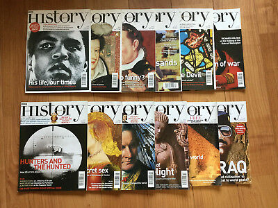 BBC History Magazines - complete set of first 52 issues May 2000 to August 2004