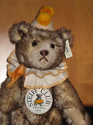 "STEIFF-Bär CLUB-EDITION 1993 ""Teddy Clown"" (EAN 420023) 1928 Replica 28 cm groß"