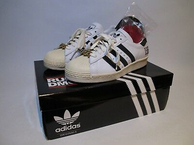 1853695fedaa My Adidas SUPERSTAR 80s RUN DMC 25th Anniversary Originals JMJ OG SZ 7  Supreme