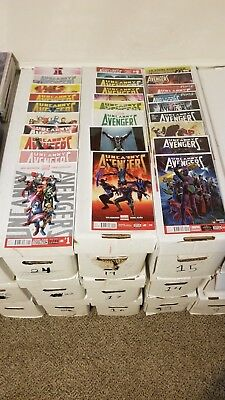 Uncanny Avengers #1-25 & Annual complete set (Marvel) Condition VF-NM