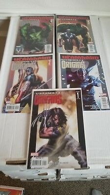 Ultimate Origins #1-5 Complete set (Marvel) Condition VF-NM