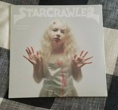 Starcrawler  LP sealed white colored vinyl Limited Edition self-titled