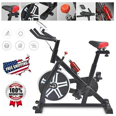 Stationary Spinning Bike Exercise Bicycle Cycling Fitness Cardio Training Indoor