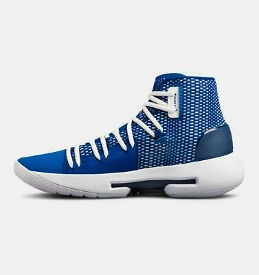 the latest 3c8cf 3f6cf UNDER ARMOUR MEN'S Hovr Havoc Basketball Shoes New Size 11 Royal Blue  3020617