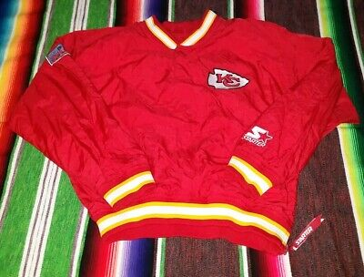 b5d62d82 VINTAGE 90'S KANSAS City Chiefs Youth Small Pro Line Starter Pullover Jacket