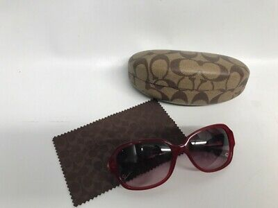 a839471de7 COACH SUNGLASSES HC 8015 (L019 Allie) 5030 8E (Dark Olive) 58-17 135 ...